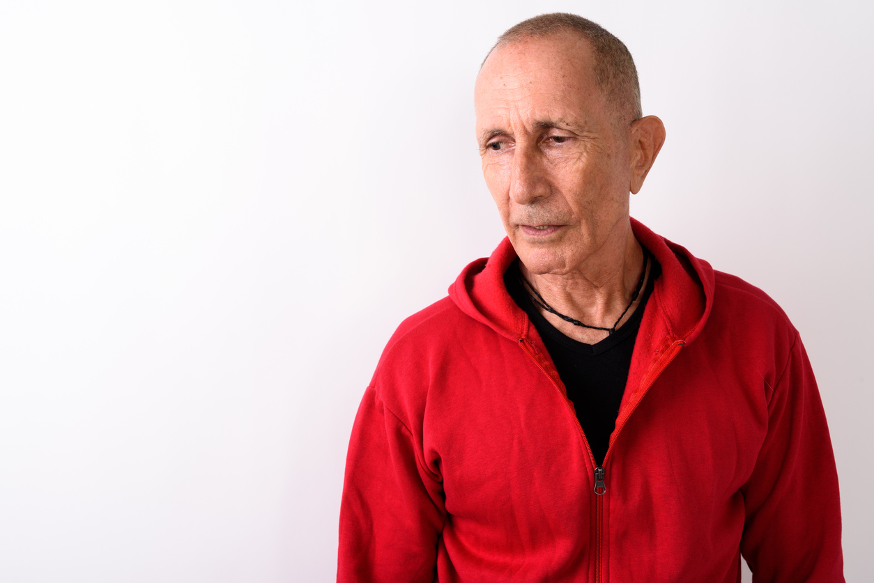 Man wondering if he is too old for hair transplants.