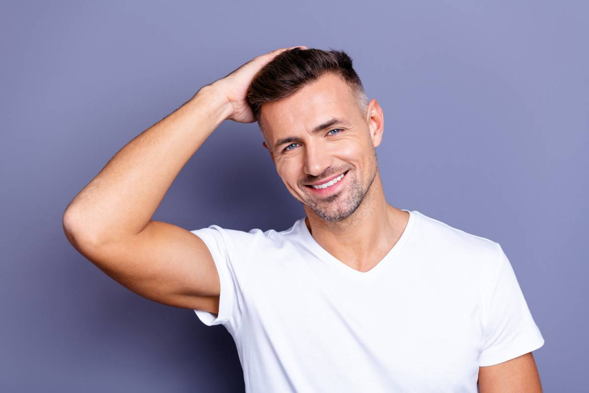 Prevent infection after hair transplant